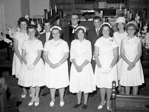 G'town Reformed Church Confirmation 1962