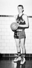 Roe Jan Central Basketball #7 Herbert Schafer 1956
