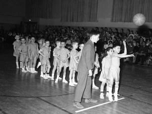 St. Mary's Academy 1st Grade Basketball 1962 (1)