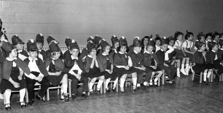 St. Mary's Academy 1st Grade Basketball 1962 (3)