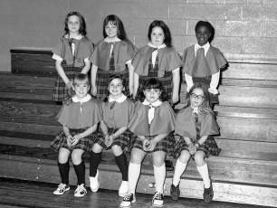 St. Mary's Academy 1st. Grade Basketball Hudson 1973 (4)