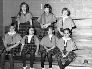 St. Mary's Academy 1st. Grade Basketball Hudson 1973 (5)