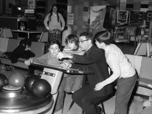 St. Mary's Academy Bowling Team at Hendrick Hudson Lanes 1973 (2)