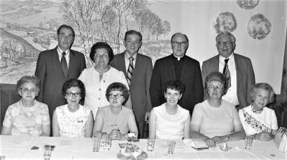 St. Mary's Academy Graduation Dance Sullivan Hart Group 1971