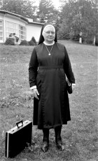 St. Mary's Academy Sister Agatha at Pickwick Lodge 1967