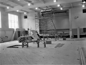 St. Mary's Academy construction May to Dec. 1956 (10)