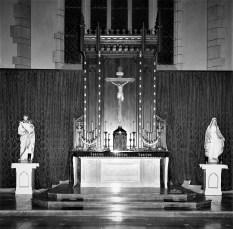St. Mary's Church new Altar Hudson Dec. 1956
