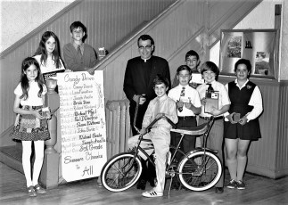 St. Mary's Elementary Candy Sales Winners Hudson 1971