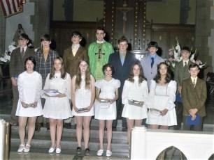 St. Mary's Elementary Graduation 1972