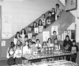 St. Mary's Elementary Poetry & Essay Contest Entrants Hudson 1971