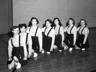 Tivoli HS Cheer leaders 1951 (2)