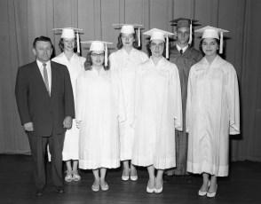 Tivoli High School Graduation 1957