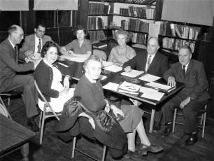 Tivoli School Board of Education 1961