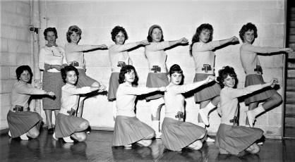 Tivoli School Cheerleaders 1960