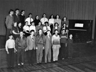 Tivoli School Chorus 1950