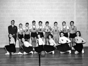 Tivoli School JV Basketball 1949-50