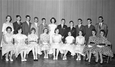 Tivoli School students June 1960