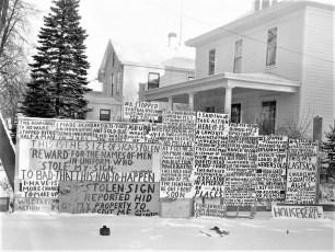 John Winter's signs Catskill 1960 (5)