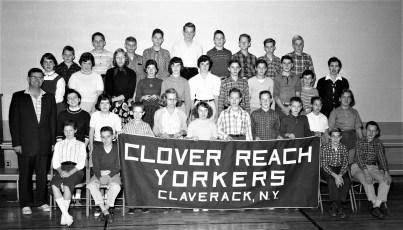 Claverack School Clover Reach Yorker's Club  1957