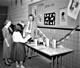 Claverack School welcomes author Victor J. Dowling 1957 (1)