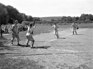 Hollowville baseball field 1950