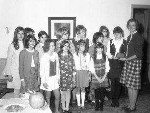4H Club honors Polly Freer for 19 years of leadership Clermont 1969