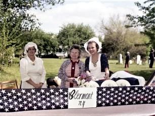Clermont Bicentennial Table at the Linlithgo Fair 1976