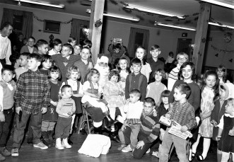 Clermont Fire Dept Xmas Party 1968
