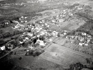 Aerial views of G'town 1948 3