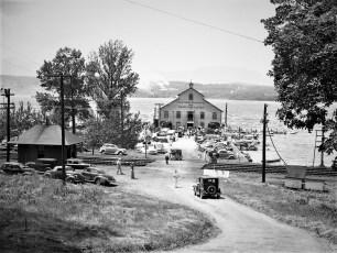 Half Moon Anchorage G'town 1947
