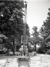 McLean Well Drillers with Engineer Paul Balint 1949