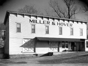 Miller & Hover feed store lower Main St G'town 1947