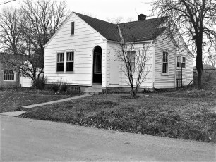 Buelah Coons house Maple Ave G'town 1954