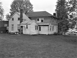 Dr. Carpender house & barn Main St G'town 1954 (2)