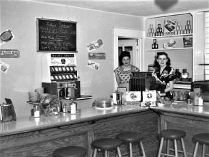 MaePeg Coffee Shop G'town 1951