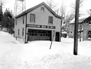 Prior G'town Firehouse 1950's