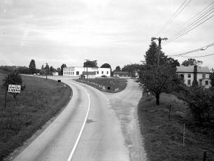 Rt 9G and Woods Rd G'town 1951