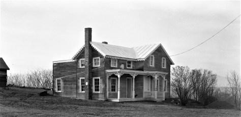 Allan Van Tassel's old house N. Blvd G'town 1957
