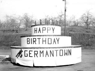 G'town's Float for Champlain Celebration Parade 1609 -1959