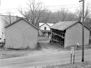 Miller & Hover Storage Sheds Lower Main St. G'town 1959 (1)