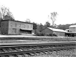 Bohnsack Eq. Co. Warehouse Lower Main St. G'town 1960