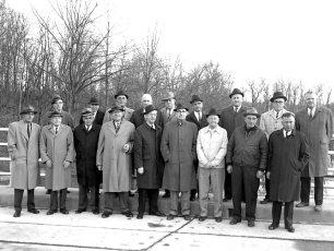 Dales Bridge Opening Dignitaries 1964