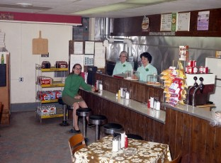 DiGuiseppe's Snack Bar G'town 1971