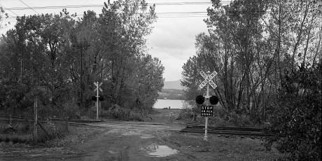 N. G'town Railroad Crossing 1975