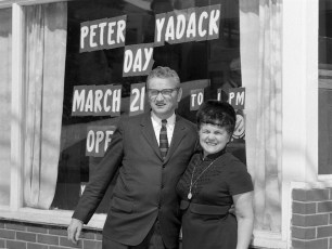 Peter & Billie Yadack Day in G'town 1971 (1)