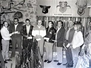 Ralph's Sports Center winners in deer contest G'town 1972