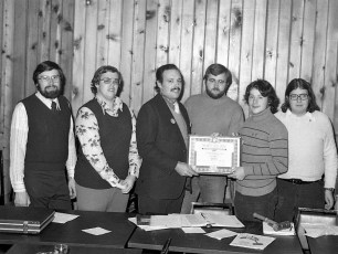 Southern Col. Jaycees Charter Night G'town 1977
