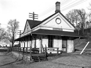 Greendale Train Station 1947
