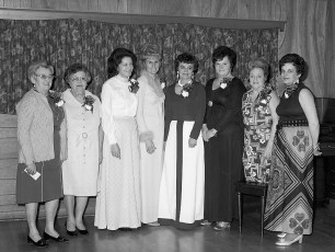 Greenport Ladies Auxiliary 49th Annual Banquet 1975