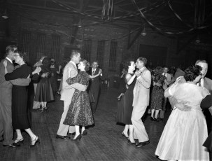 Greenport Rescue Sq. Dance at the Armory Mary Meacher & Alice Horneing Co-Chairs 1956 (3)